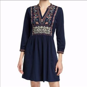 Johnny Was Claude Henley Boho Dress NWT Floral